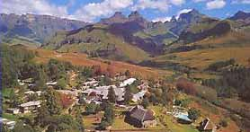 Drakensberg offers a selection of fine hotels like the Cathederal Peak Hotel
